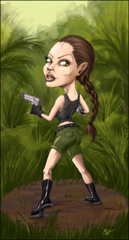 Caricature – Dessin de Presse | Makowh – Illustrations Angelina Jolie News